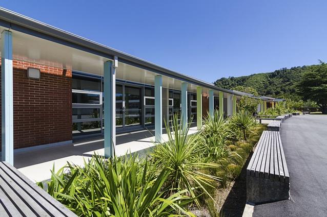 Education Award: Fergusson Intermediate School – Masterplanning & Rebuild by McKenzie Higham Architects.