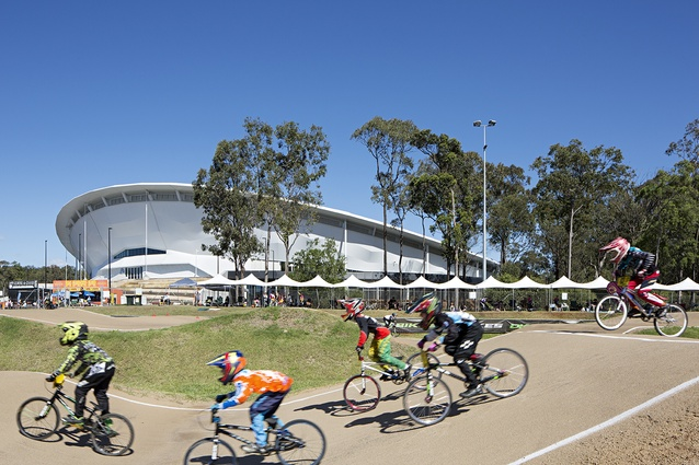 Anna Meares Velodrome by Cox Architecture.