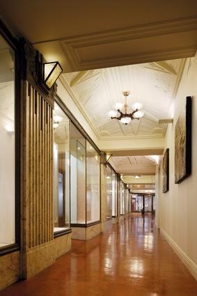 The restored first floor mezzanine is now separate dental suites.