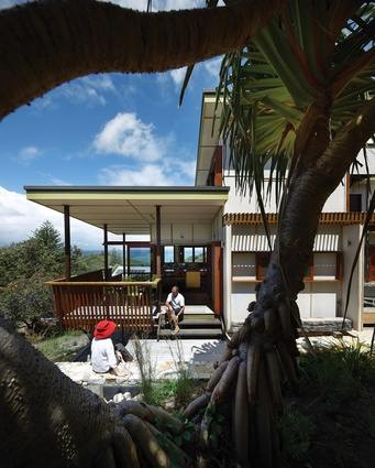 The house is designed for relaxing and whale watching.