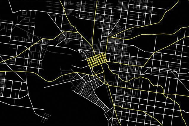 Melbourne's arterial road network.