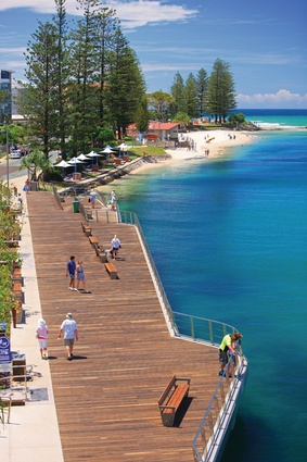 Bulcock Beach in Caloundra, Queensland by Place Design Group.