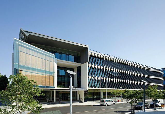 由Richard Kirk建筑师设计的ABC布里斯班总部。