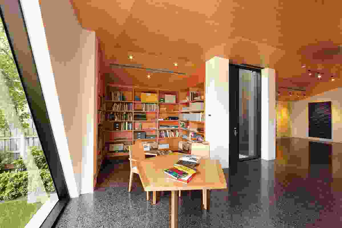 The art library.