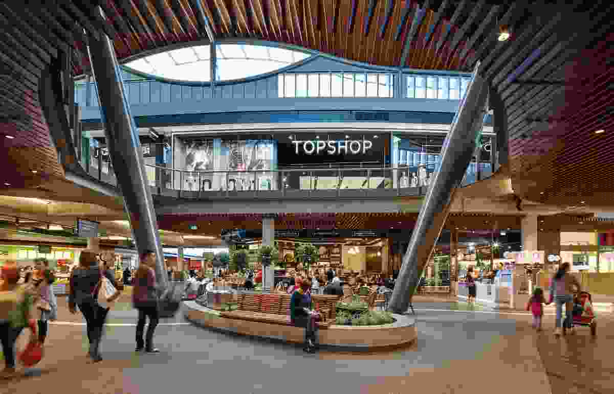 Highpoint Shopping Centre by Grimshaw in association with The Buchan Group.