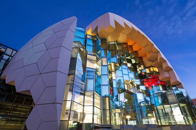 The Geelong Library and Heritage Centre by ARM Architecture.