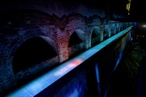 Dale Jones-Evans' Top5Feet installation lights up historic reservoir