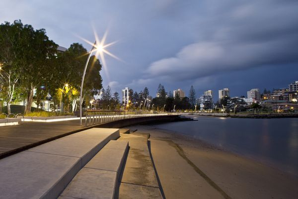Jack Evans Boat Harbour, Tweed Heads, by Aspect Studios and Tweed Shire Council.