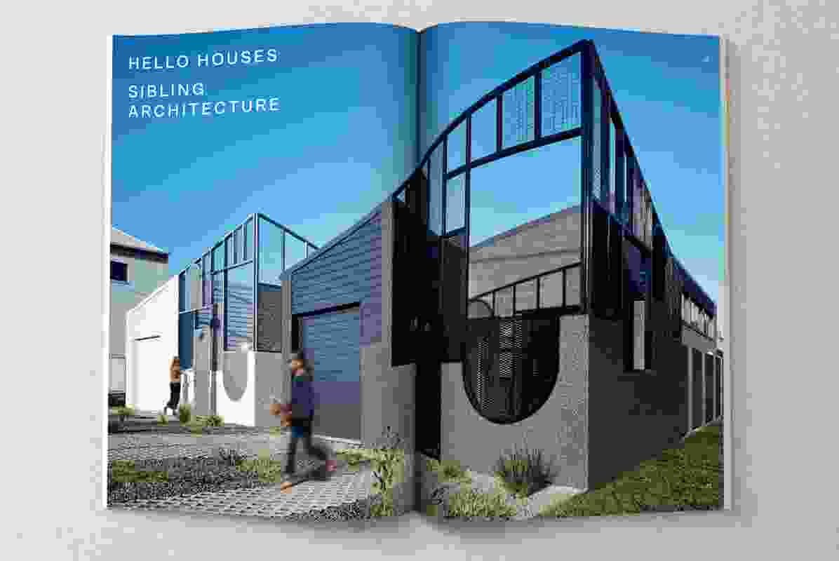 Hello Houses by Sibling Architecture.