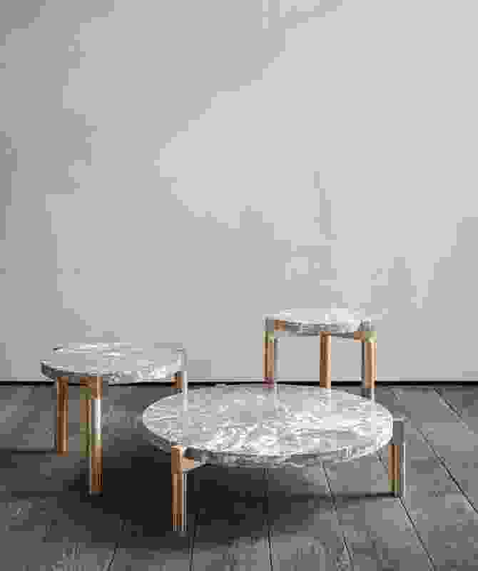 Marble Tables by Michaël Verheyden.