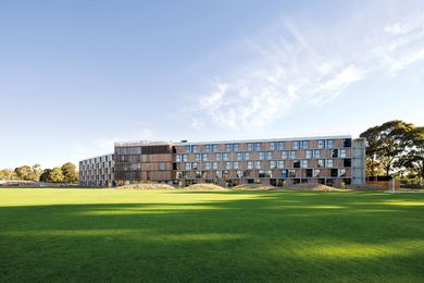 Monash University Student Housing, Clayton by BVN Architecture.