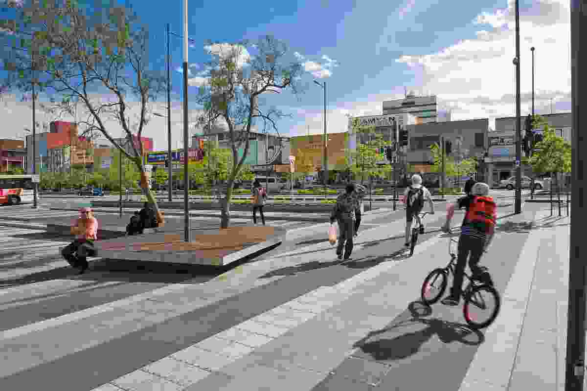 Revitalising Central Dandenong: Lonsdale Street Redevelopment by BKK Architects/TCL Partnership.