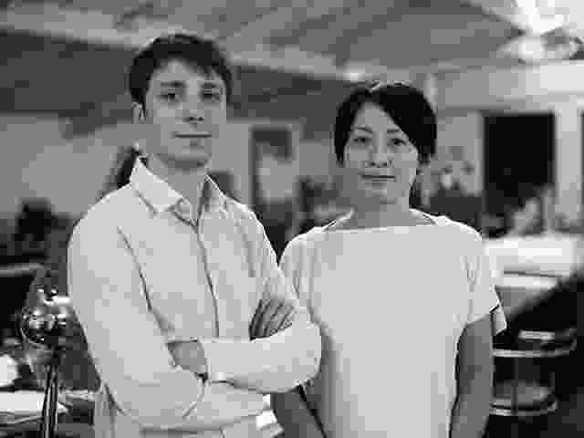 Nicolas Moreau and Hiroko Kusunoki.