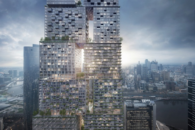 The Lanescaper by Bjarke Ingels Group and Fender Katsalidis Architects.