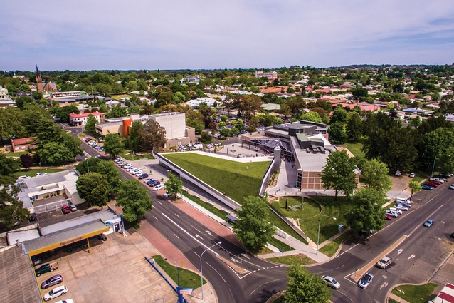 The museum is the latest addition to the civic precinct of Orange in New South Wales, which also includes the Orange City Library and Regional Gallery.