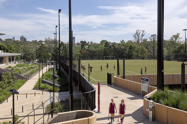 UQ Synthetic Sports Ovals by Tract Consultants.