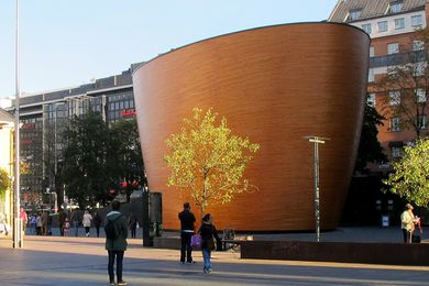 Kamppi Chapel of Silence in Helsinki by K2S Architects.