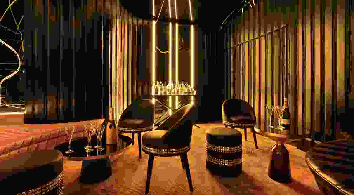 Bond Lounge by Hachem.