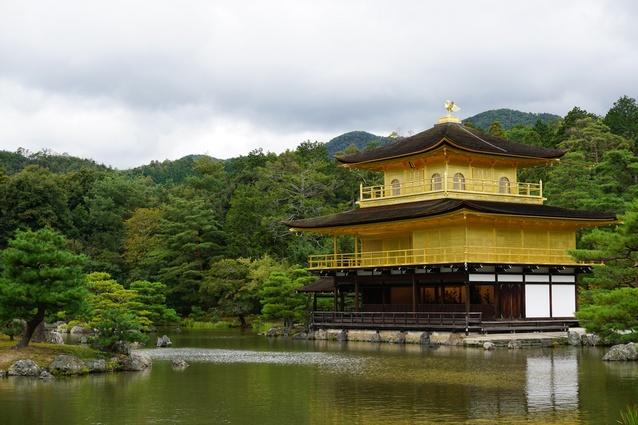 Kinkaku-ji (Golden Pavilion), Kyoto.