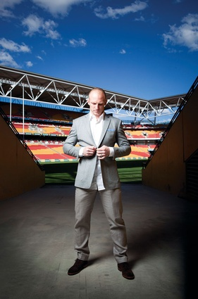Former professional rugby league player Darren Lockyer is the ambassador for Heat, a government initiative to market Queensland architecture both locally and abroad.