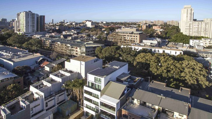With its 11 apartments almost entirely sealed, The Fern in Sydney, by Steele Associates, is Australia's first Passive House certified apartment building.