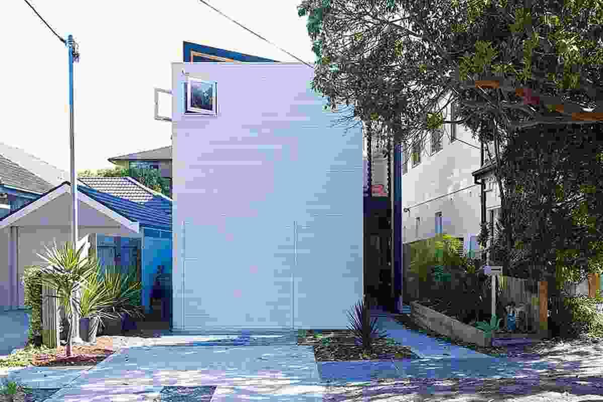 House Shmukler illustrates Tribe Studio's 'suburban uncanny' aesthetic.