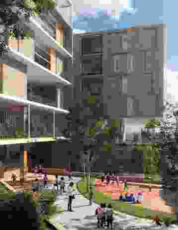 Chatswood Public School redevelopment by Architectus.