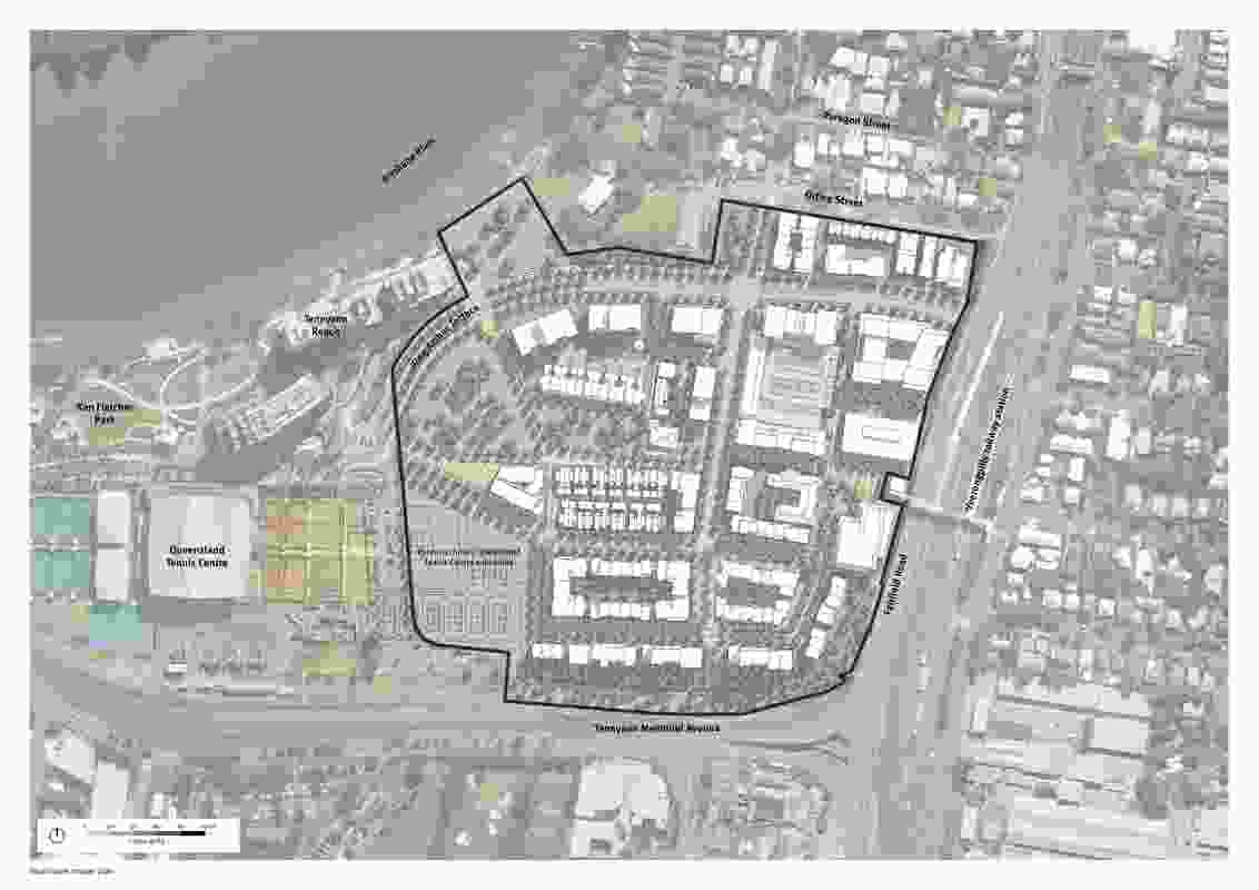 Yeerongpilly TOD, Detailed Plan of Development by Deicke Richards.