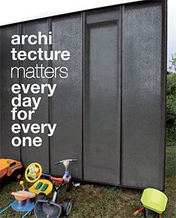 """Everyday Matters by Sarah Ash and Kyra Thomas defamiliarizes the everyday with a """"gloriously over-invested"""" garden shed."""