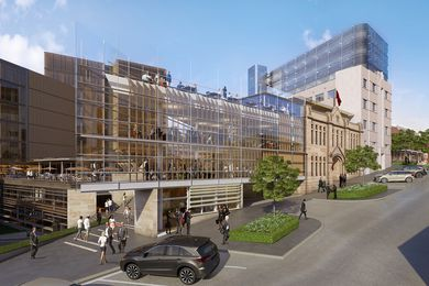 The site of the 10 Murray Street building will be replaced by contemporary additions to Parliament Square.