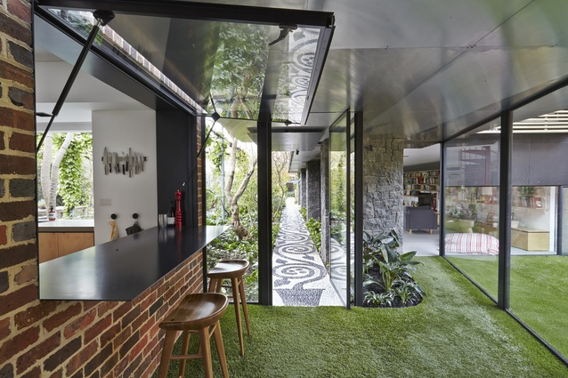 Walker House by Andrew Maynard Architects.