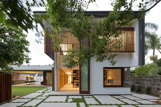 Hunters Hill House by Arkhefield.