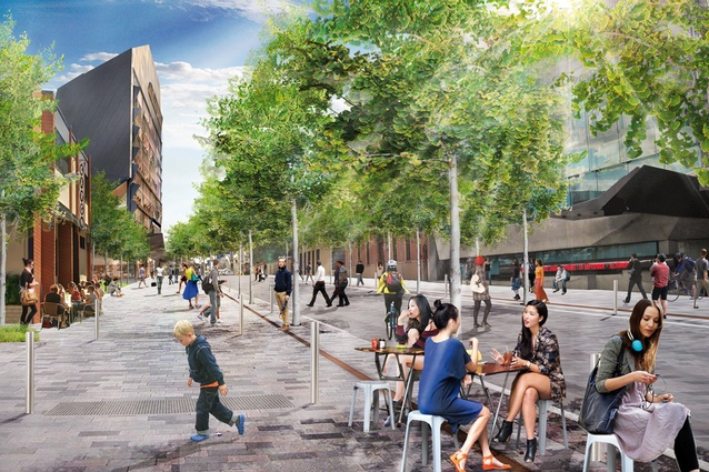 Hindley Street Activation by Hassell.