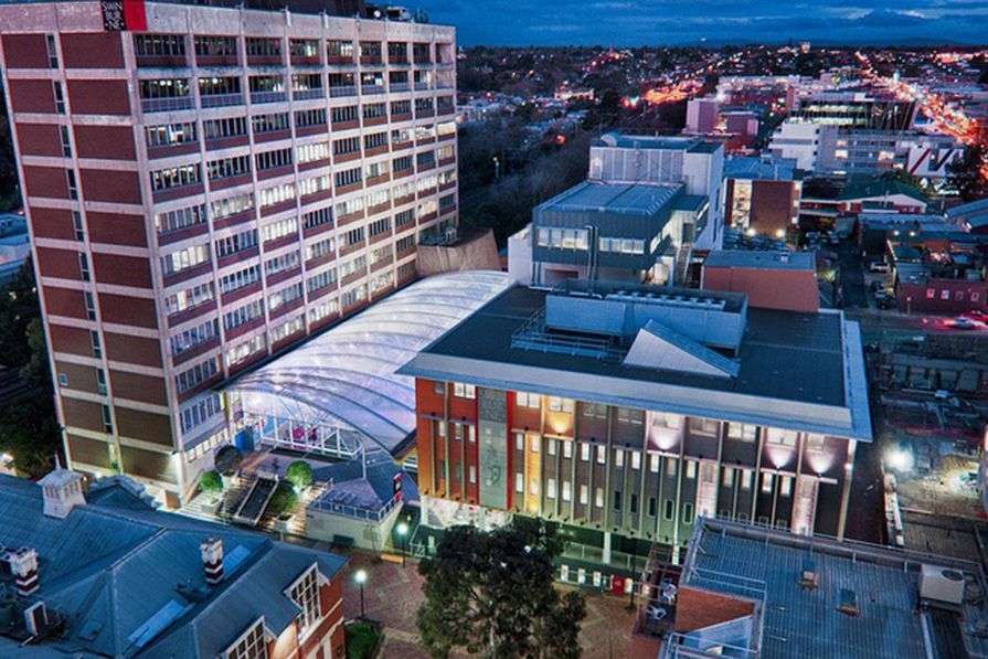 Swinburne University of Technology's Hawthorn campus.