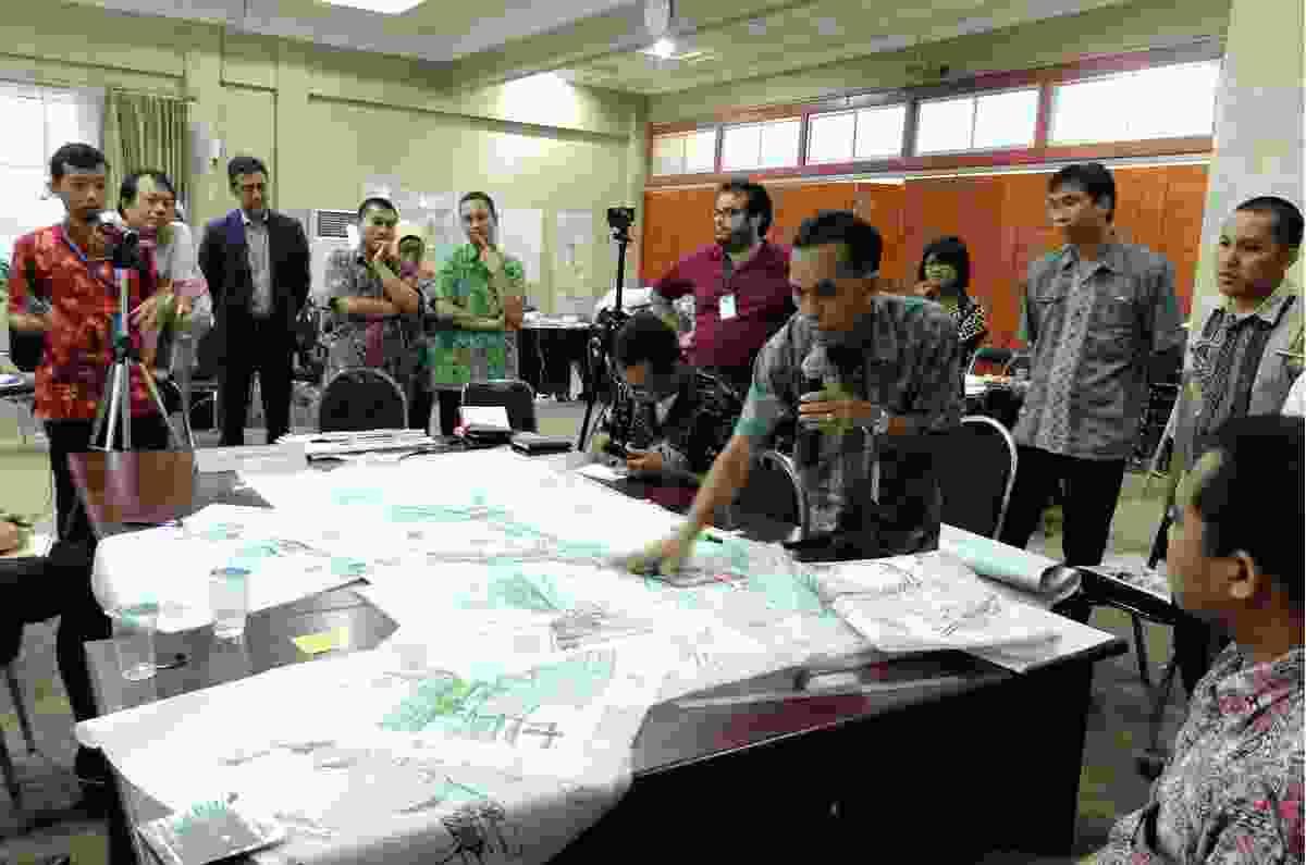 Surabaya Urban Corridor Development Program by Hansen Partnership.