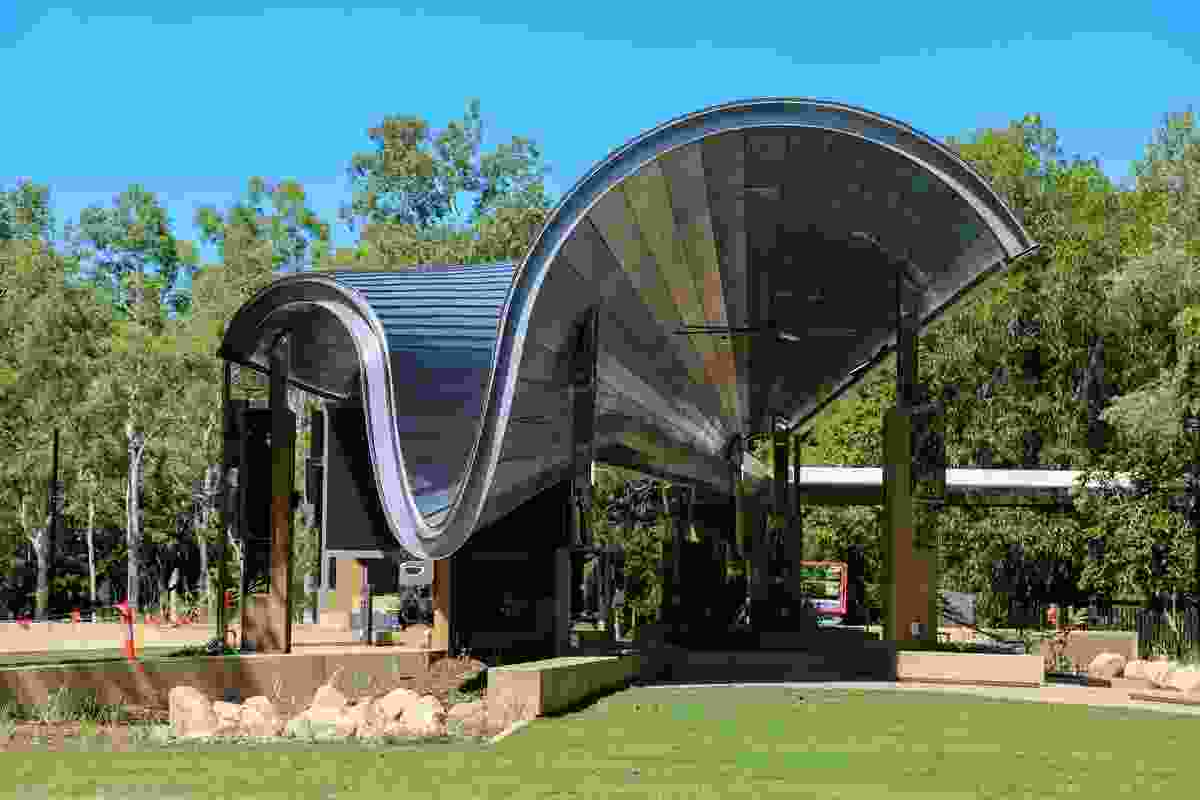 James Cook University Central Plaza by Cox Architecture.
