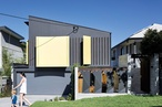 Superbly scaled: Tarragindi steel house