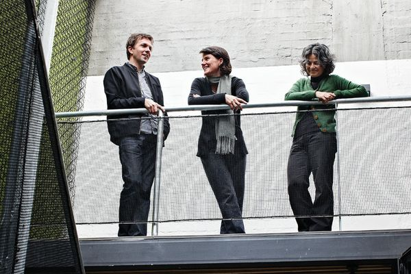 NMBW Architecture Studio (L–R): Nigel Bertram, Lucinda Mclean & Marika Neustupny.