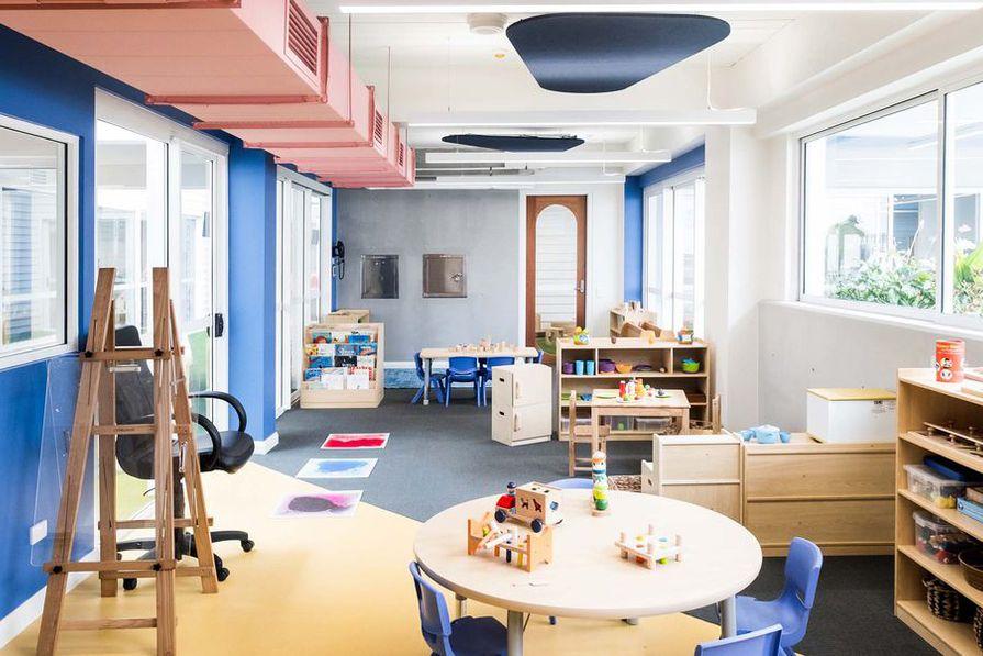 Giraffe Learning Centre by Supercontext Architecture Studio.