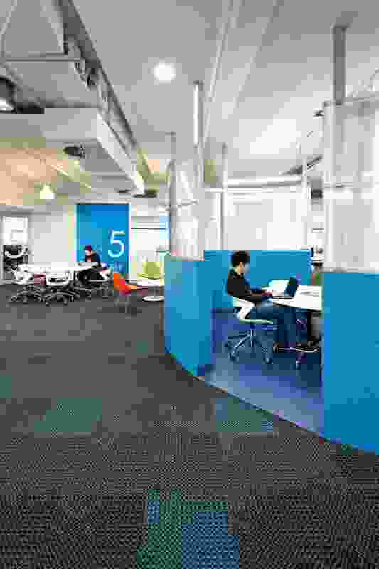 Colour in Commercial Design – QUT, S Block by Suters Architects.