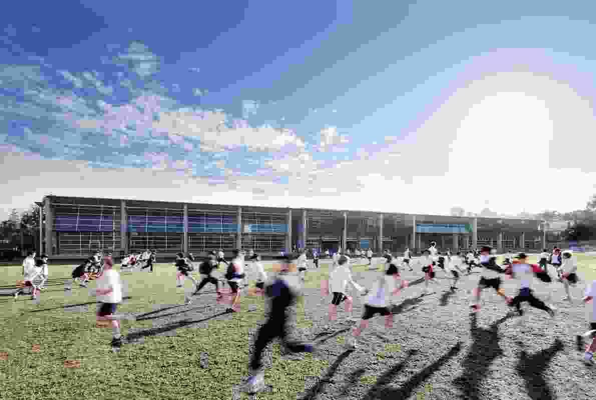 Cranbook Junior School by Tzannes (2012).