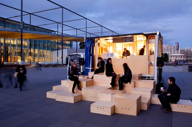 Best Temporary Design: Chasing Kitsune by Hassell and Schiavello.