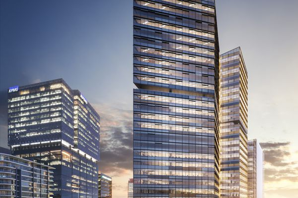 The proposed Two Melbourne Quarter by Woods Bagot.