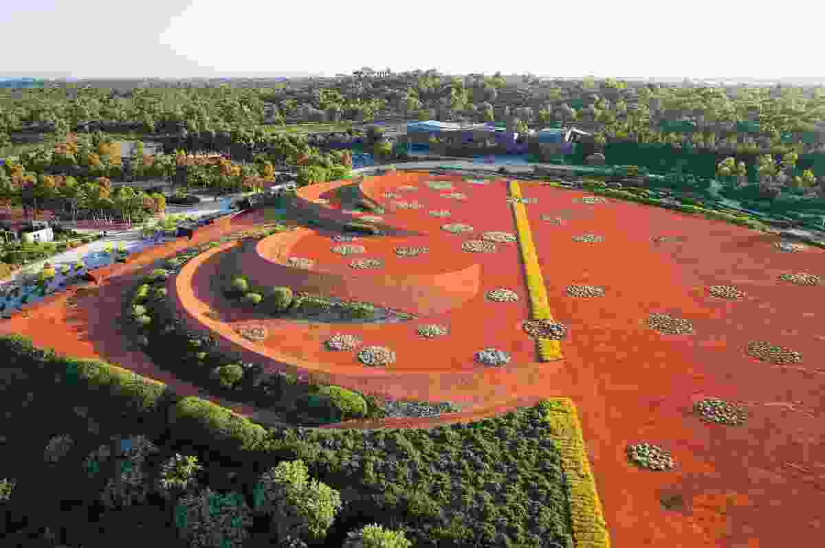 Australian Garden by TCL with Paul Thompson, Edwina Kearney, Mark Stoner, Greg Clarke and Mish Eisen for Royal Botanic Gardens, Cranbourne, 2005 (stage 1), 2012 (Stage 2).