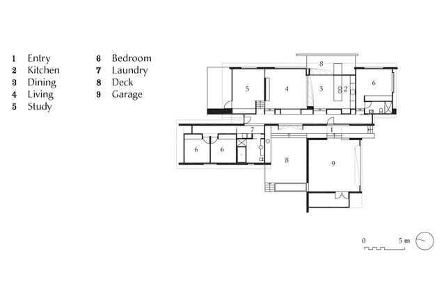 Bonnet HIll House plan.