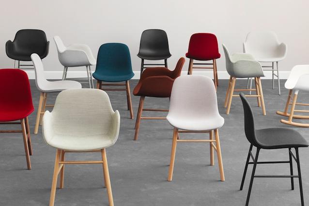 Form upholstered chair from Normann Copenhagen