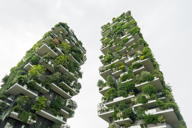 Bosco Verticale by Boeri Studio, visited as part of the 2018 Dulux Study Tour.