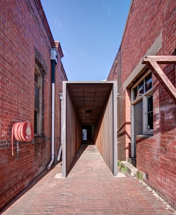 Abbotsford Convent Breezeway by Jackson Clements Burrows.