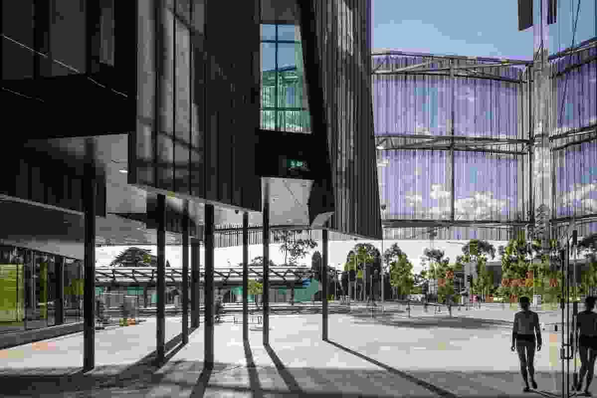 Monash Transport Interchange by John Wardle Architects.