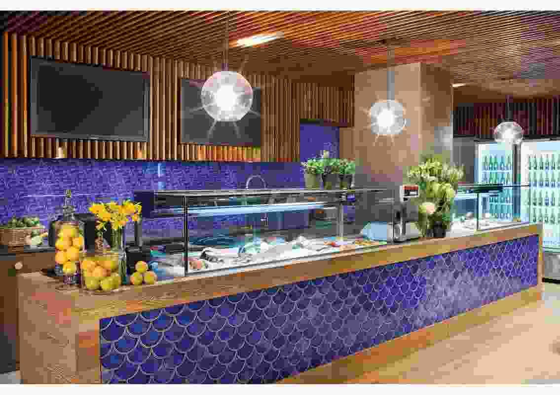 Colour in Commercial Design – Tassal Salmon by Mim Design.